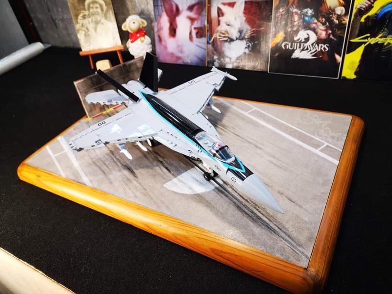 COBI F/A-18E Super Hornet bereit zum Abheben