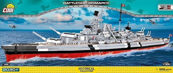 COBI Bismarck 4819 neue Version