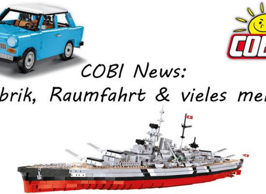 Trabant 601 S in Luxusausführung erschienen und weitere News aus der COBI-Welt