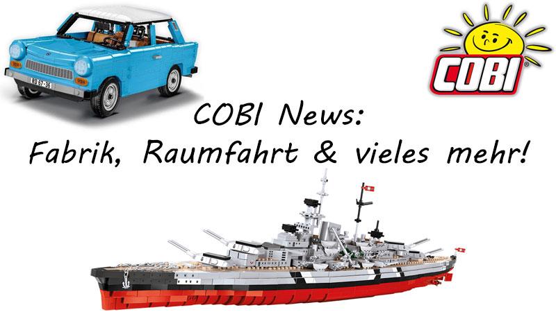 COBI News 18 limitierte Editionen, Kurznews, Bismarck